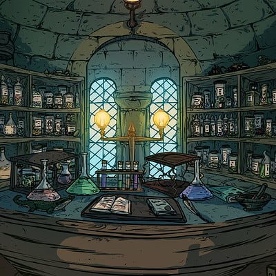 Reglas para la Comunidad Thiago-baltar-04-harry-potter-illustration-ilustracao-concept-art-visdev-visual-development-hogwarts-digital-paint-thiago-baltar