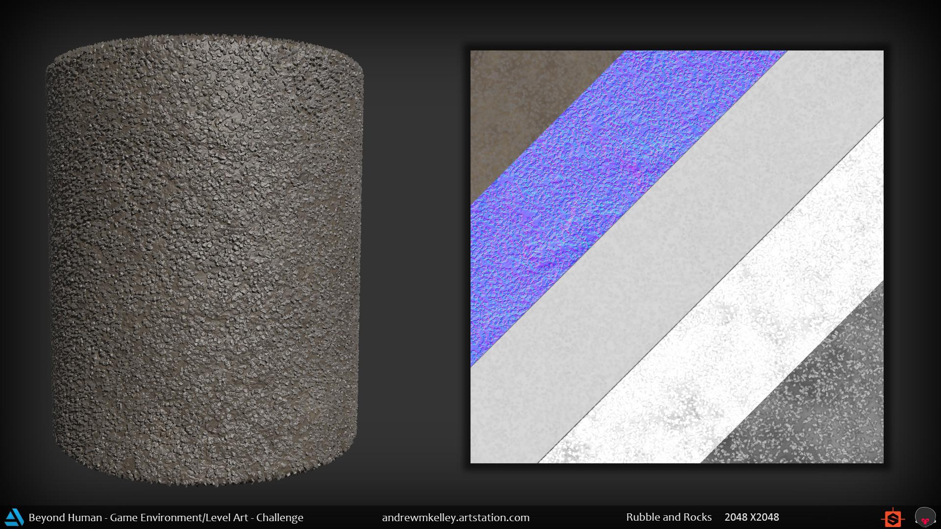 Andrew kelley materialshot rubbleandrocks