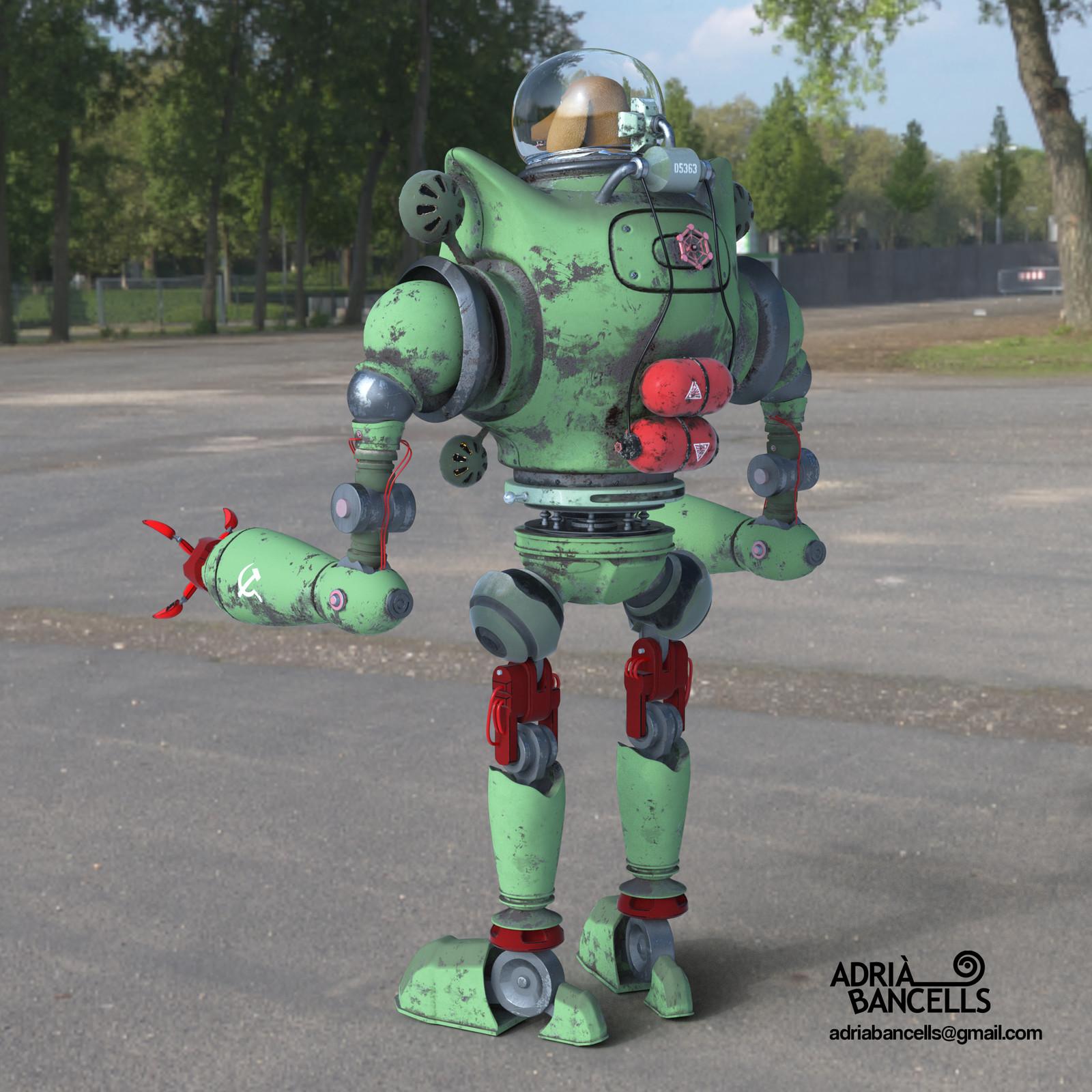 Robo Dog Back
