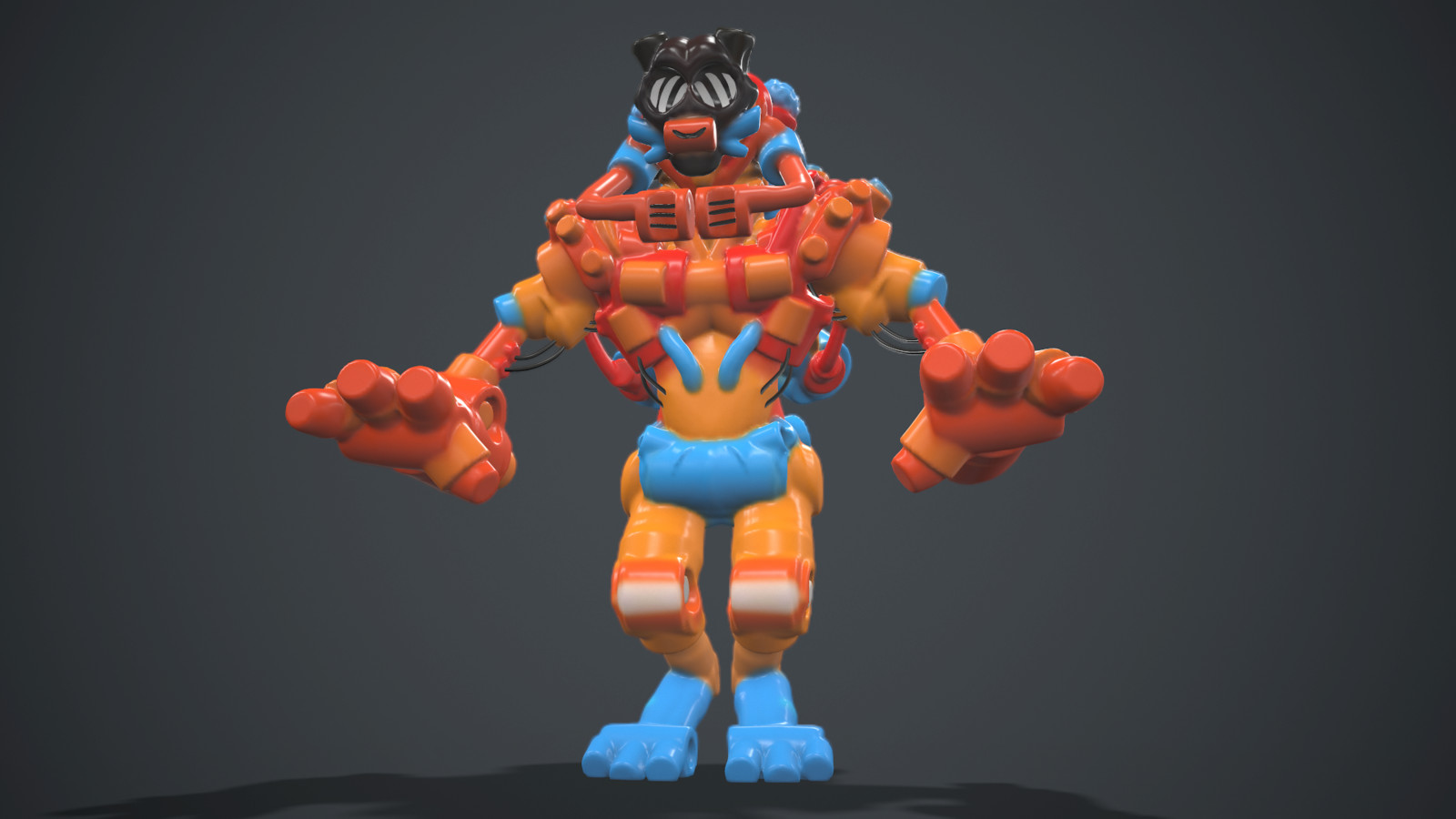Marmoset render (model exported as an FBX from MasterpieceVR)