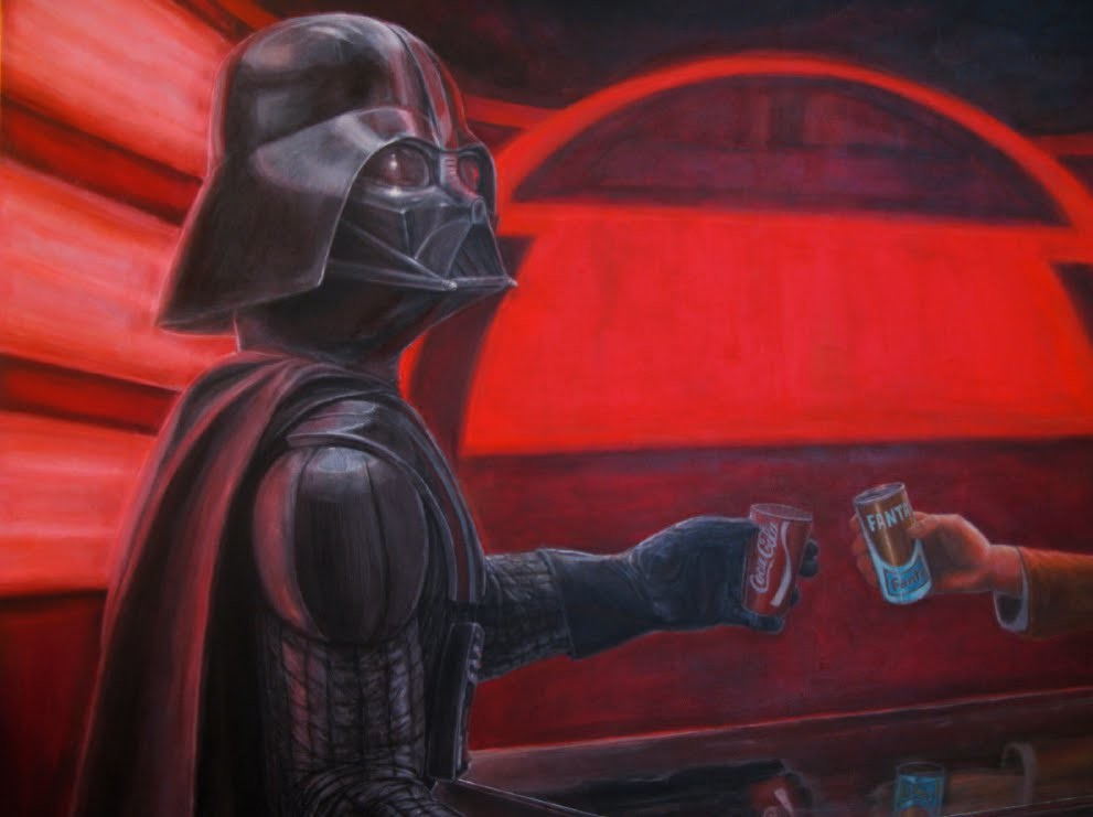Eric bond the dark lords of history and fiction eric bond 2012 vader detail