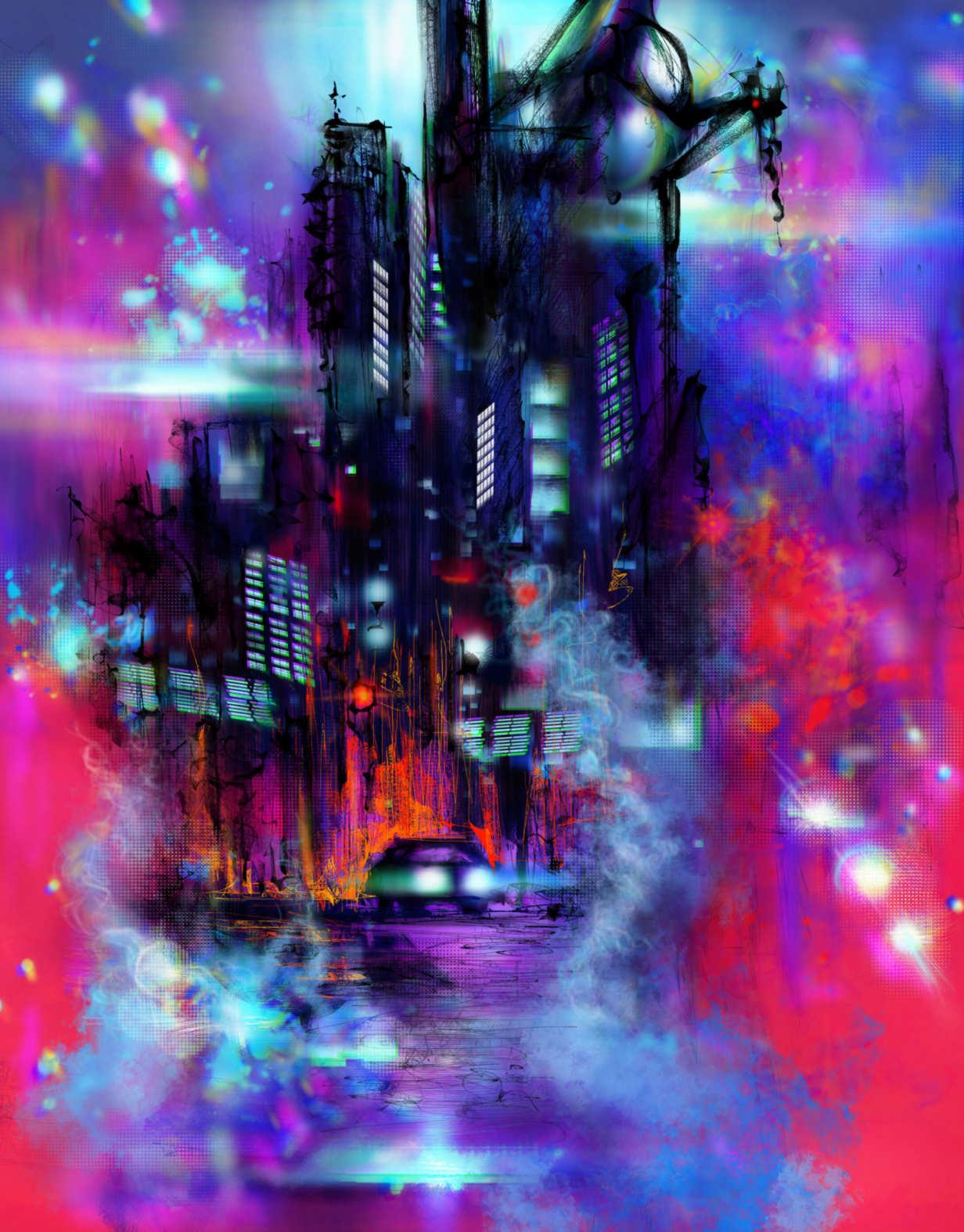 Szilagyi szilard vaporwave artstation