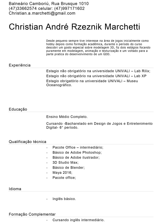Christian Marchetti - curriculo lattes vitae 9b6983a7d41ac