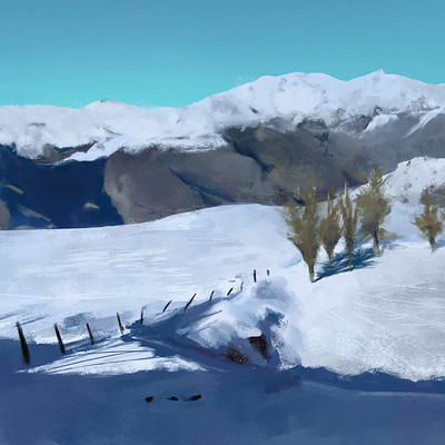 Andrew santos snow2