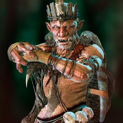 Julio cesar espada troll render