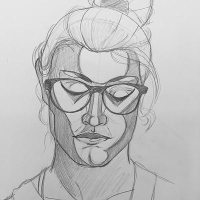 Heather rankin geometric portrait 1