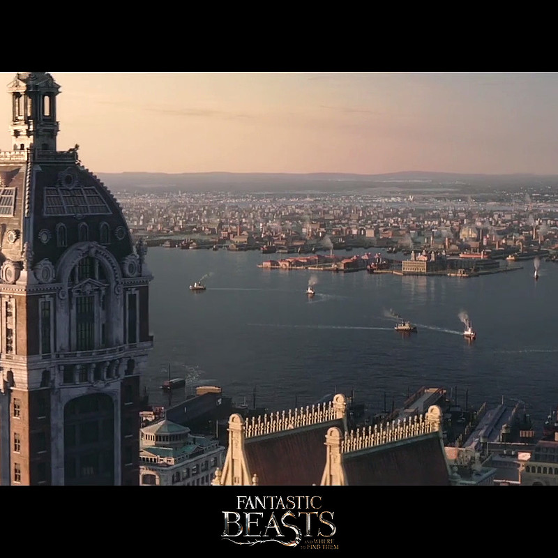 Fantastic Beasts - NY Rooftops Prop Modeling / Texturing