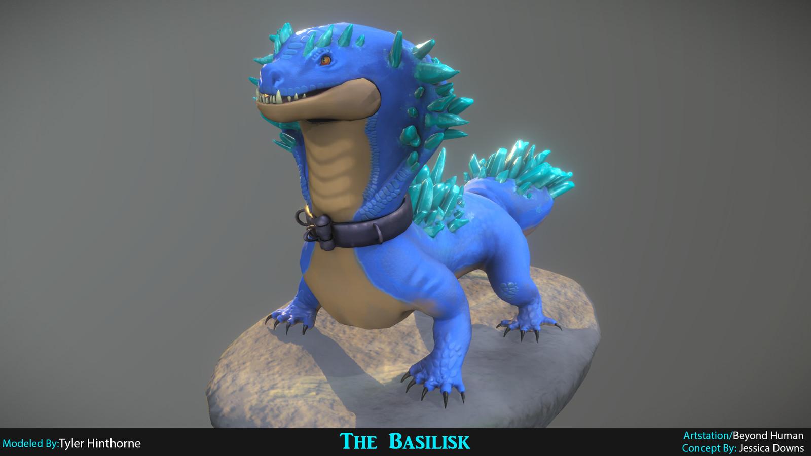 Basilisk - Beyond Human Challenge