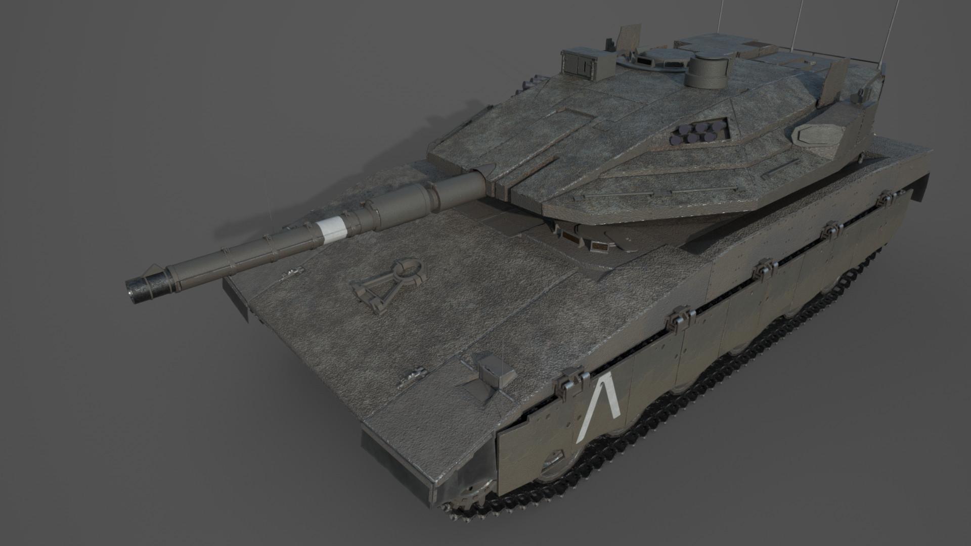 Updated PBR texture. 2/4