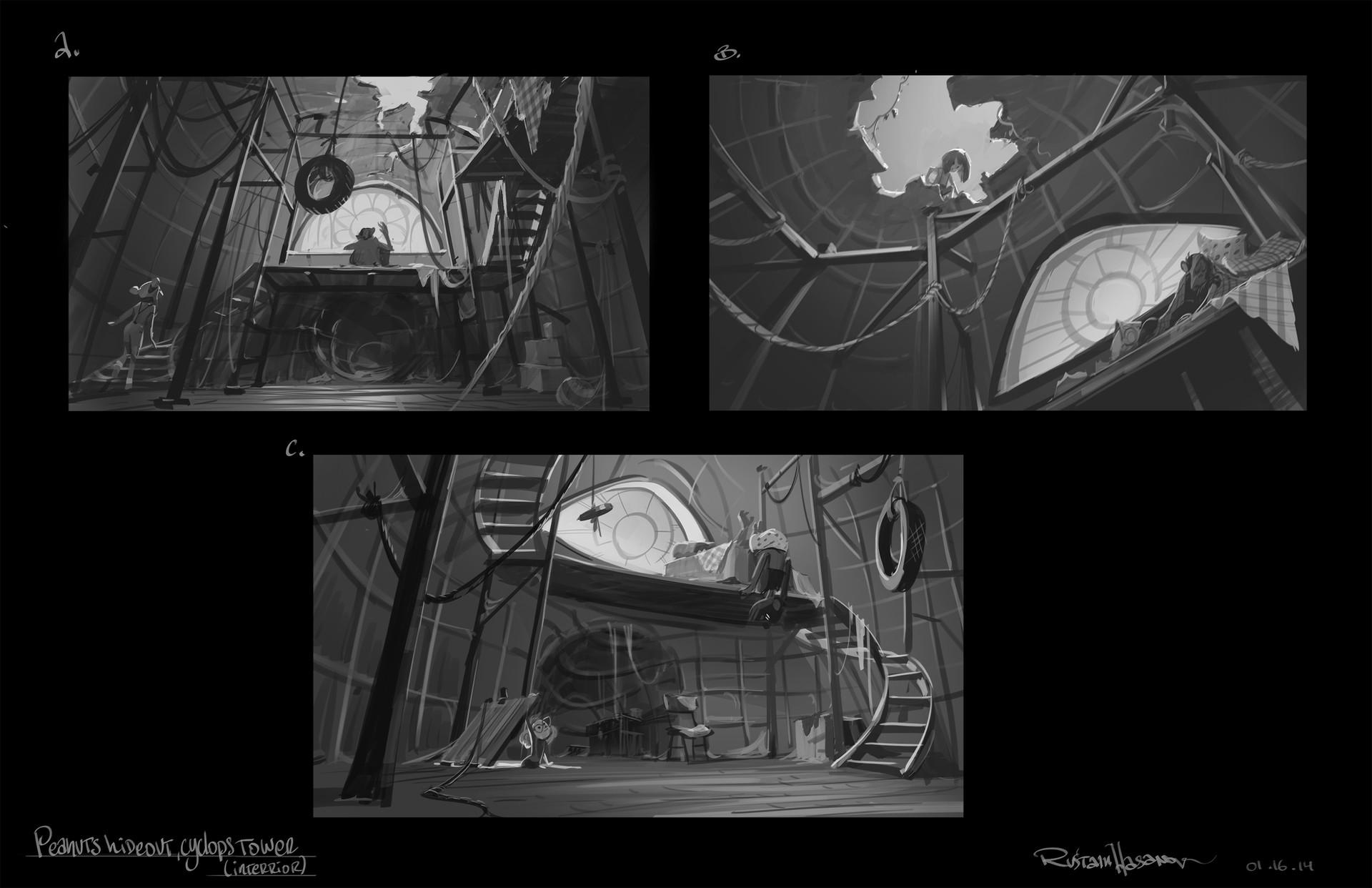 Rustam hasanov giant s hex sketches