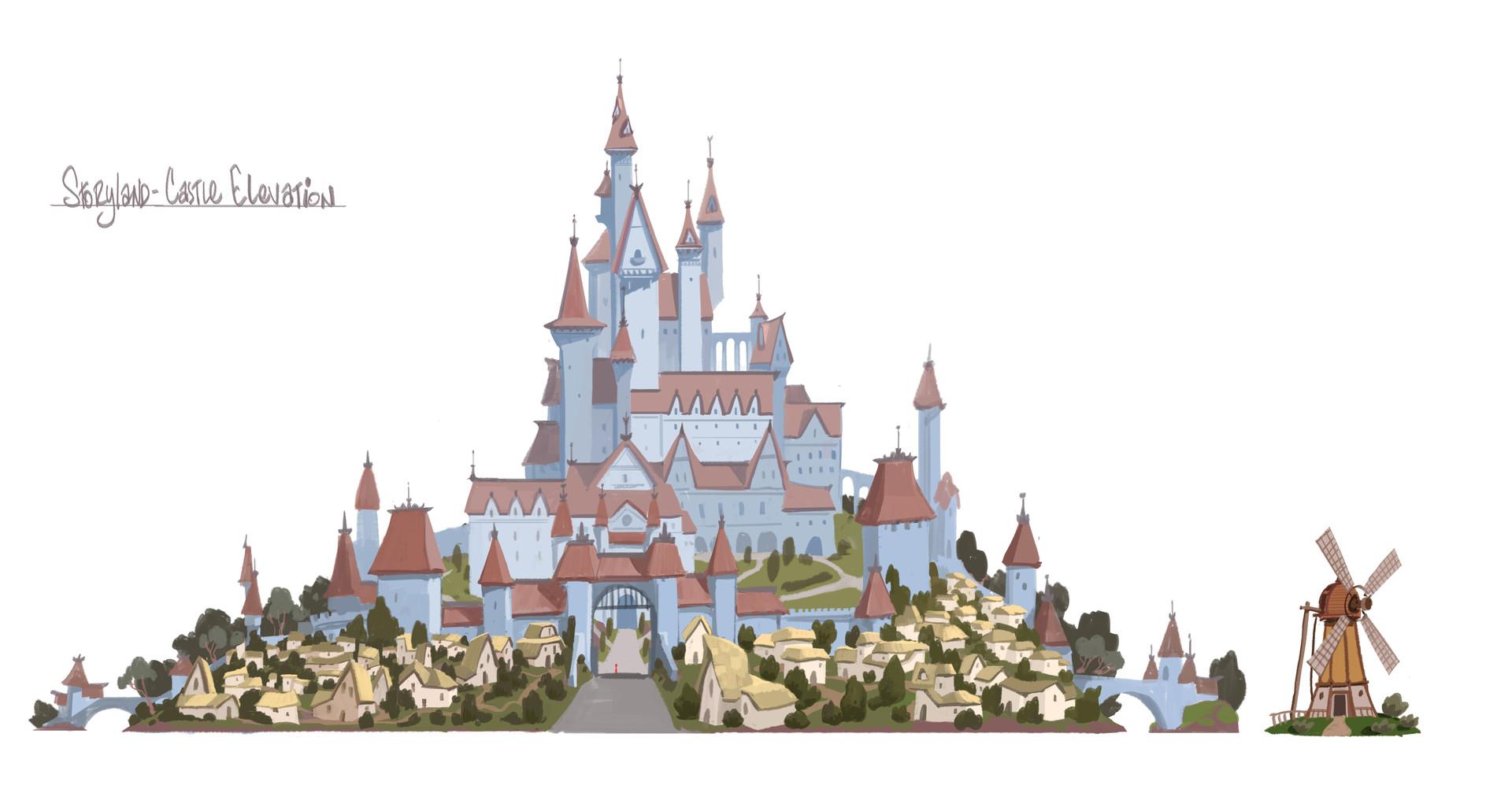Rustam hasanov castle3 print