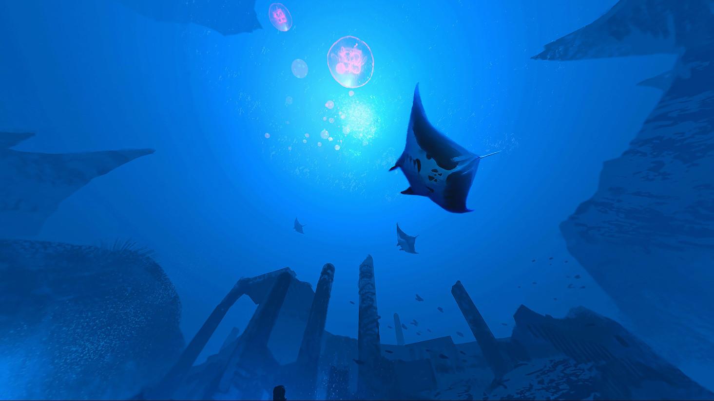 Lorenz hideyoshi ruwwe underwater frame4