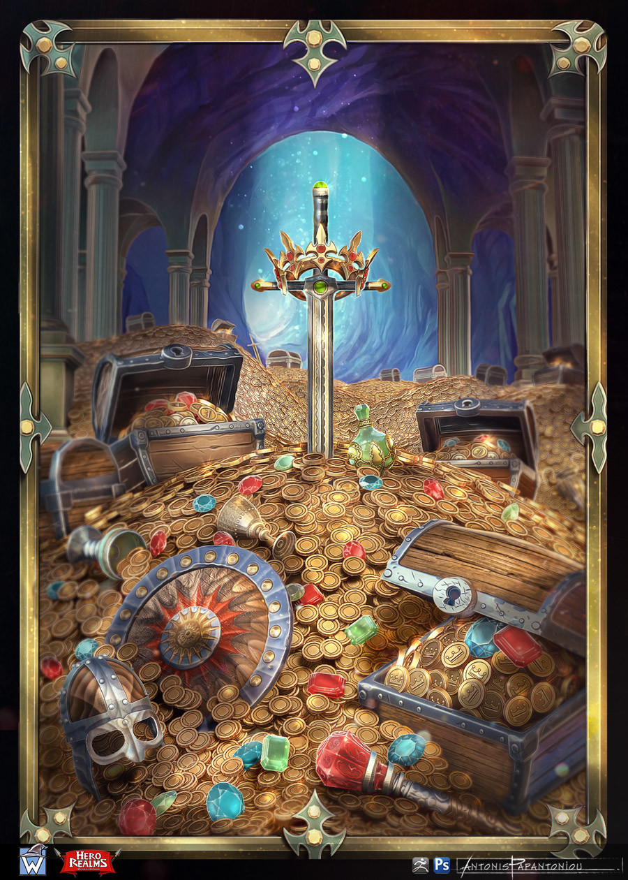 Antonis papantoniou treasure room
