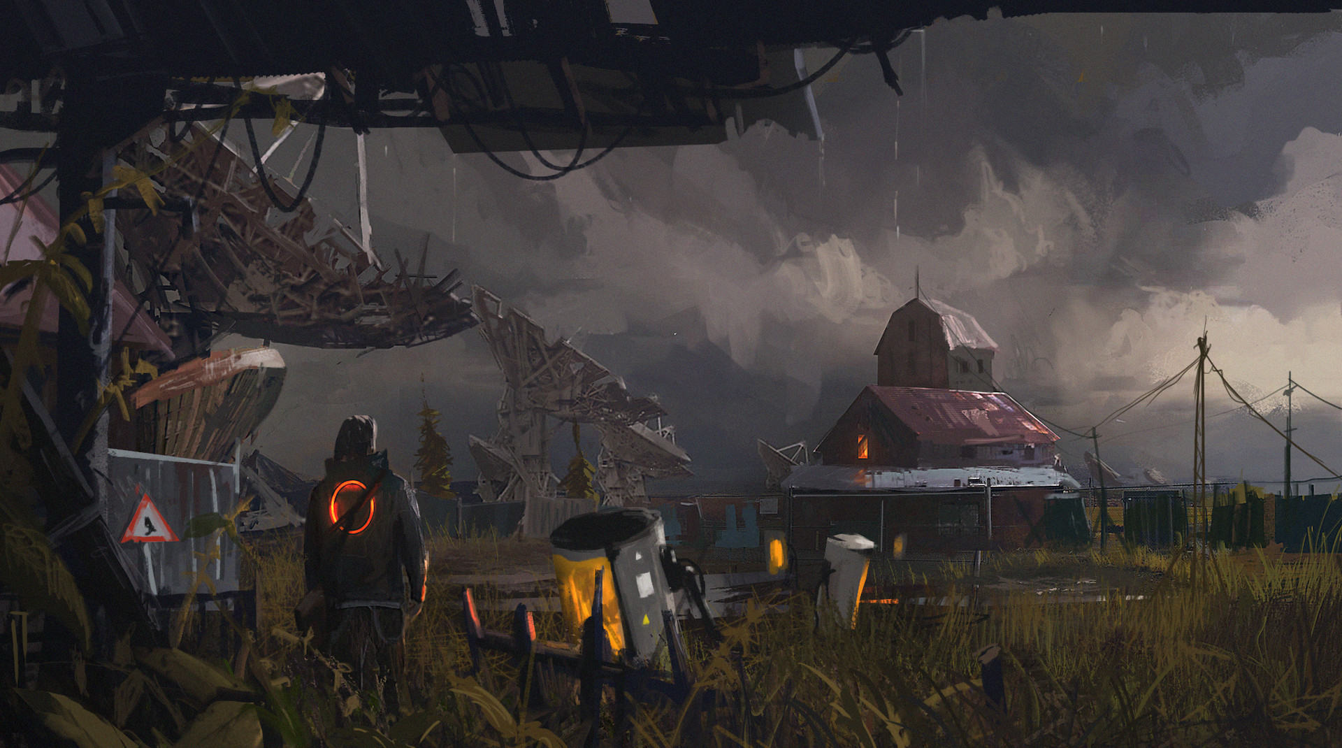 Ismail inceoglu fire in the sky