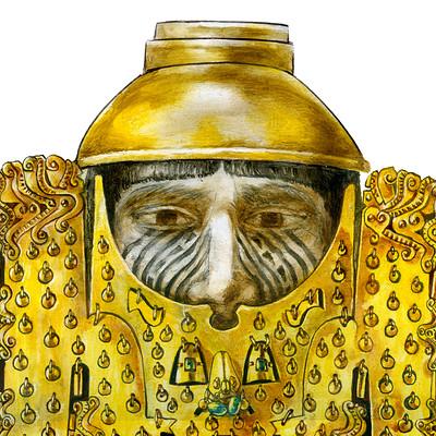 Science meets art nose ornament calima yotoco malagana closeup