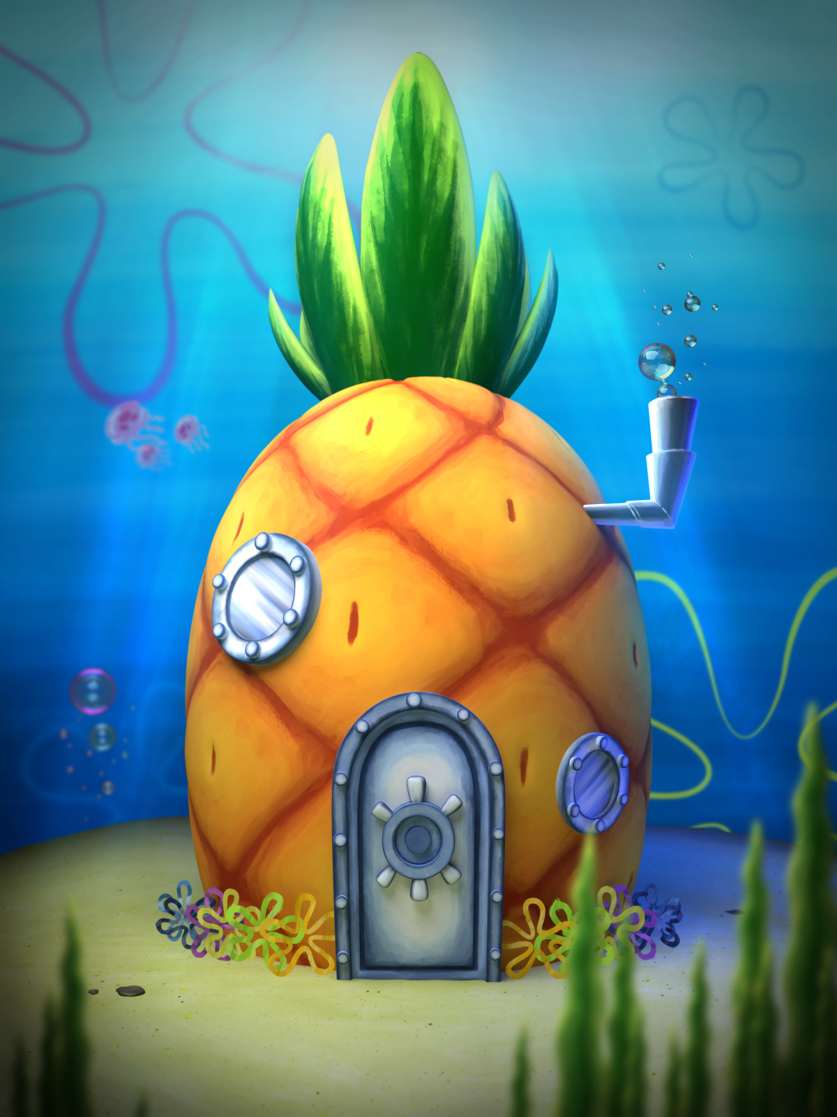 SPONGEBOB'S PINEAPPLE