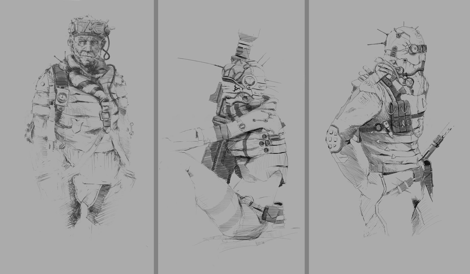 Rostyslav zagornov sketches char
