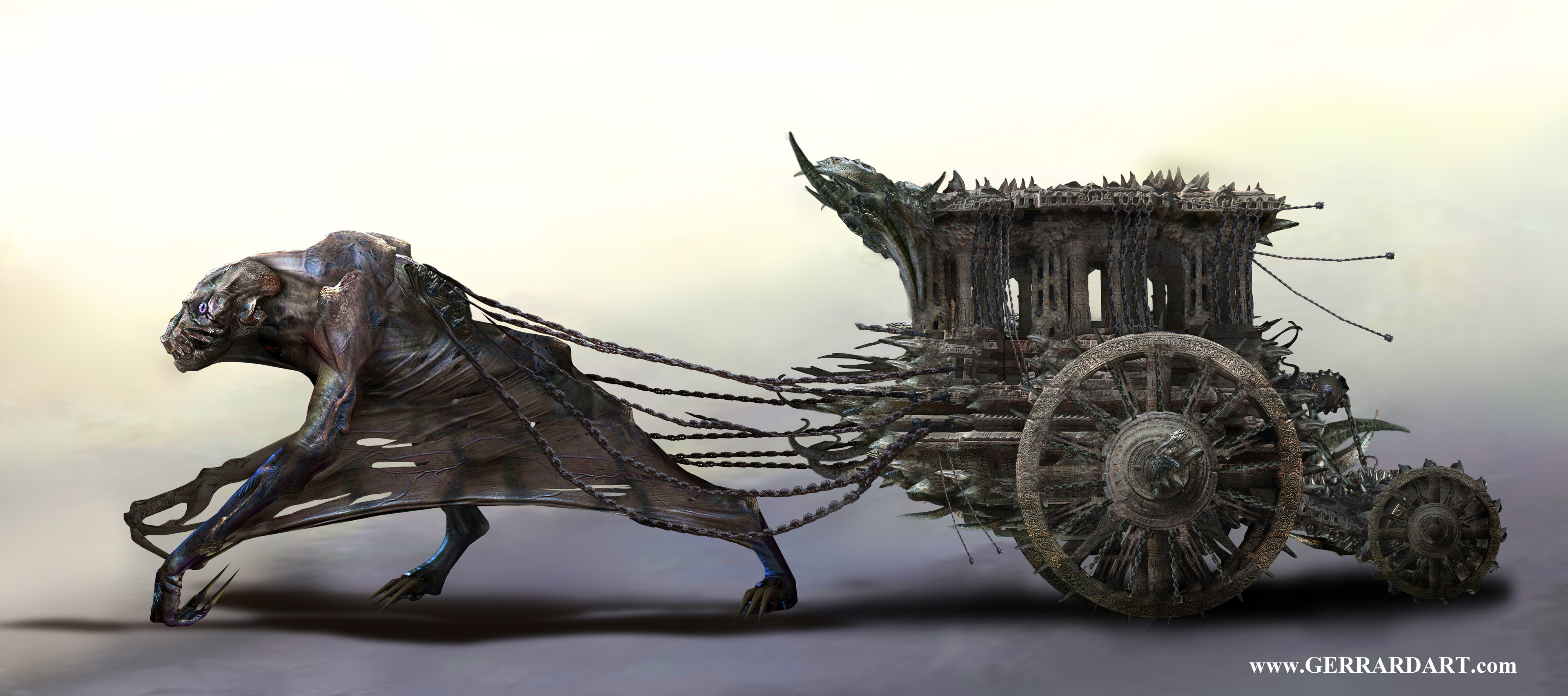 Carriage for an unreleased game