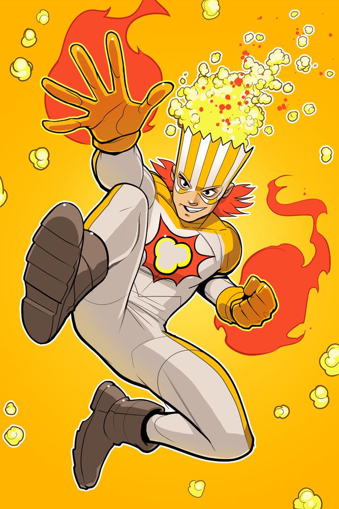 Spicy Popcorn Guy.