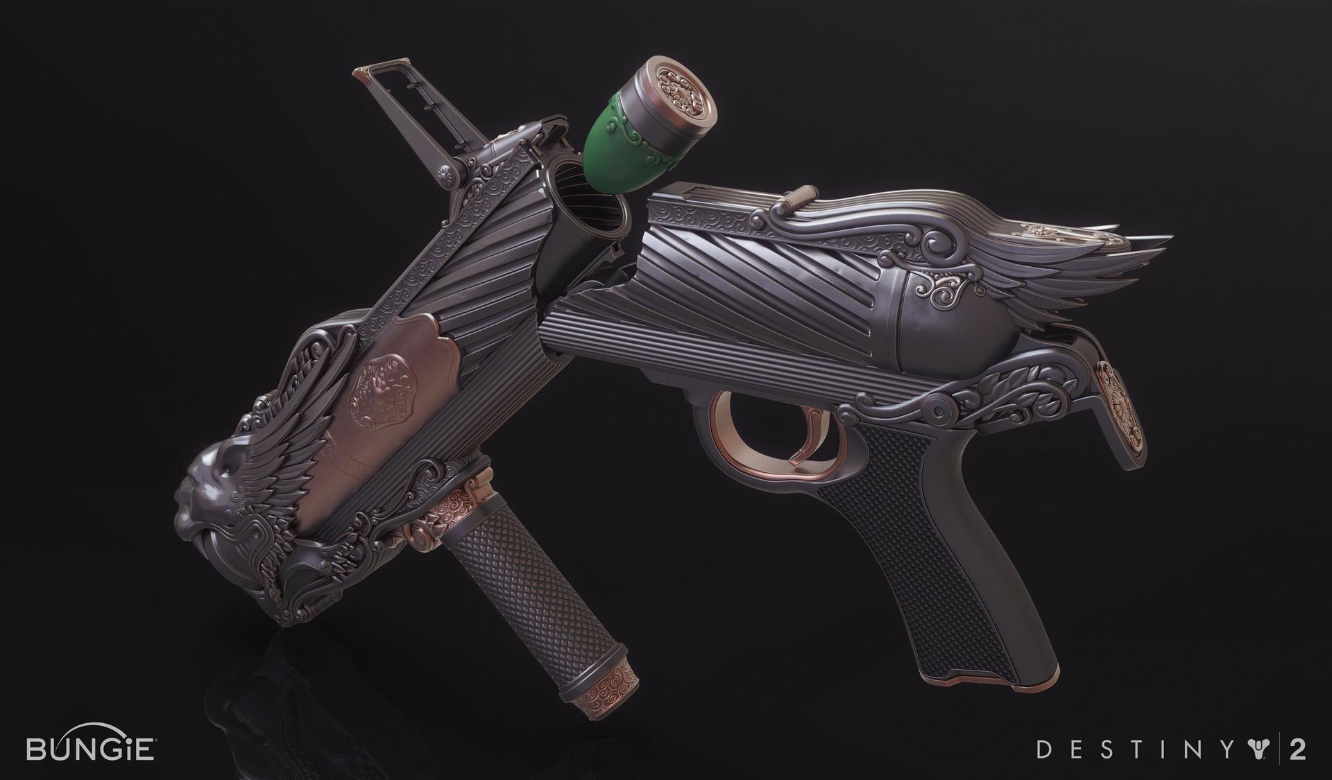 Mark van haitsma exotic grenade launcher open
