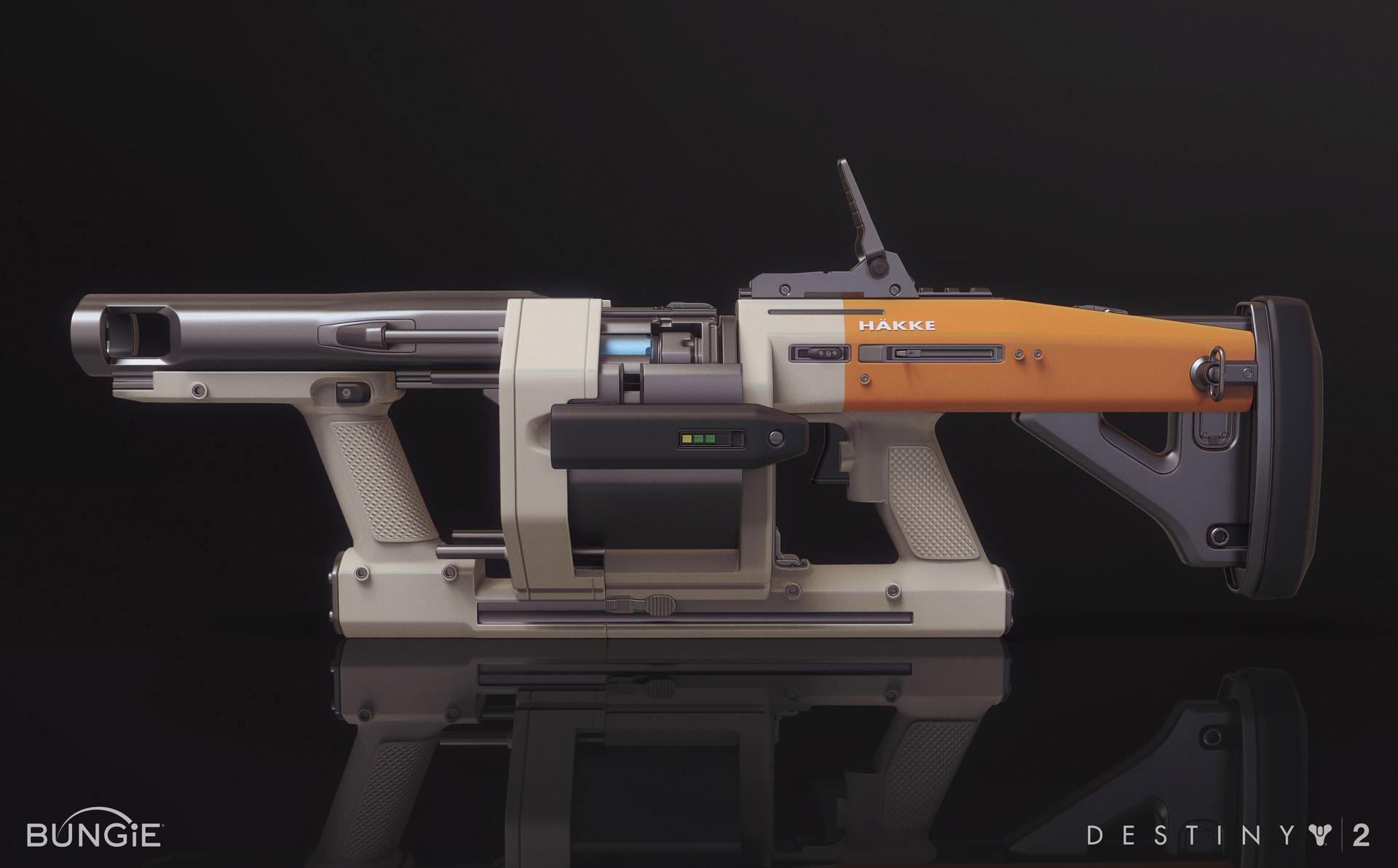 Mark van haitsma hakke grenade launcher side