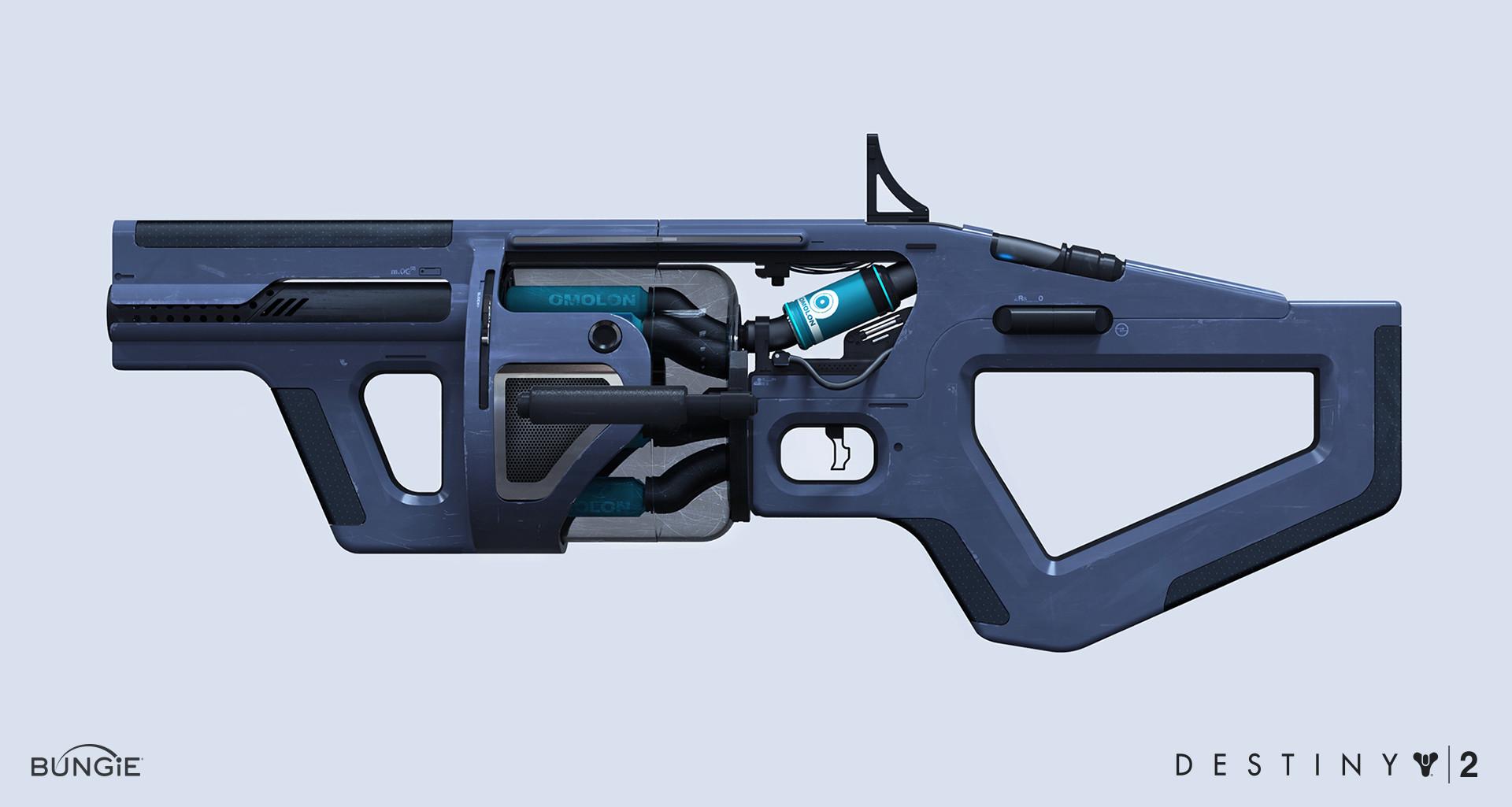 Dima Goryainov Destiny 2 Omolon Grenade Launcher