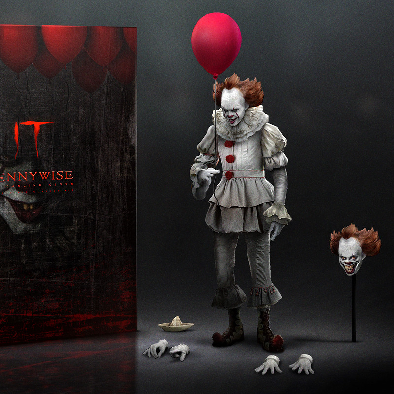 """""""IT"""" Pennywise Collectible Concept"""