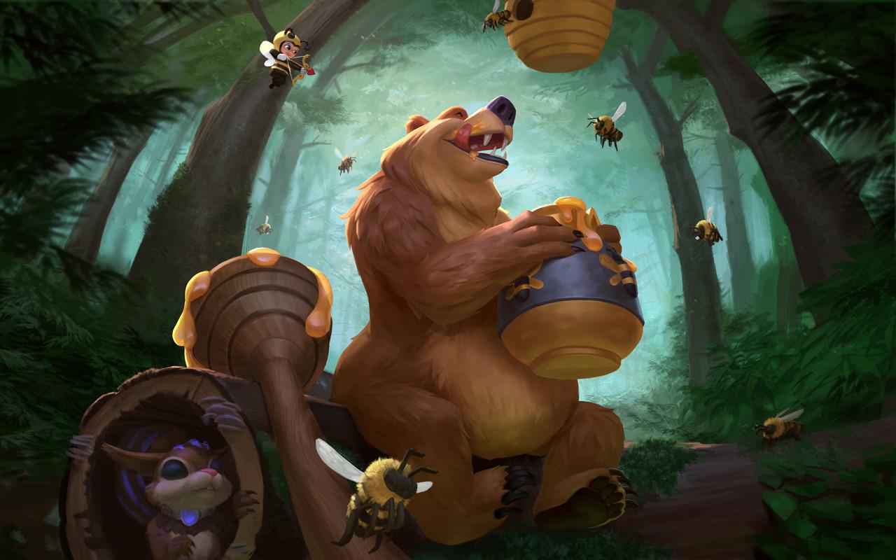 Bacchus Honeybear