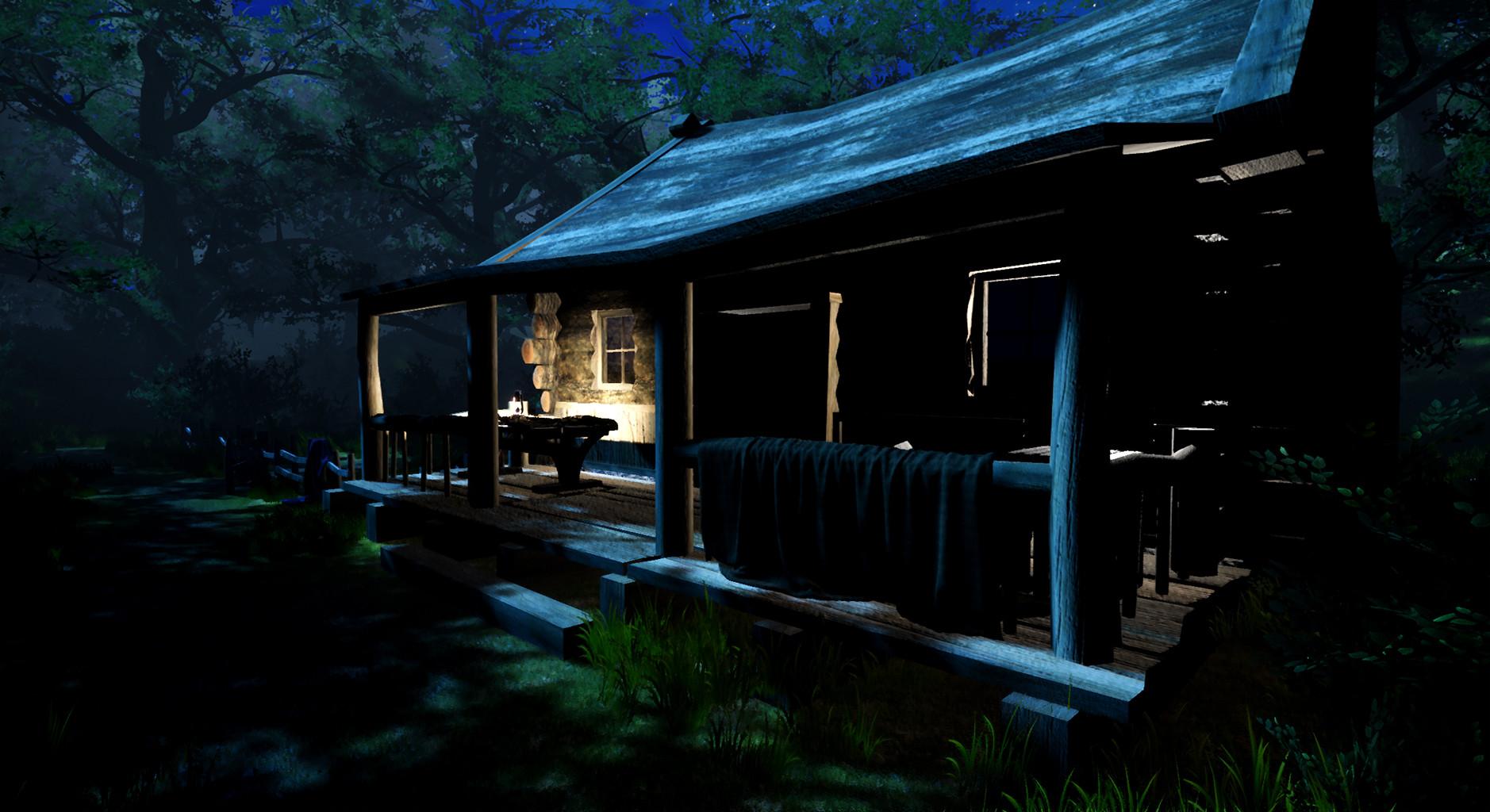 Fanie nel cabin02