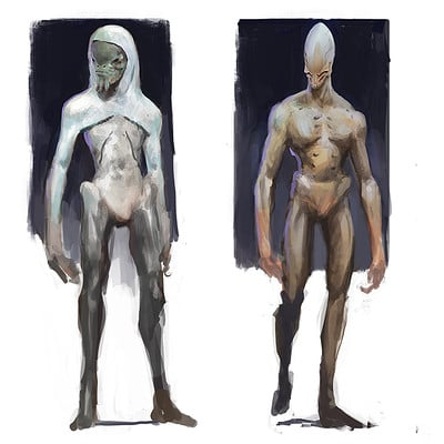 Thomas wievegg alien character concepts