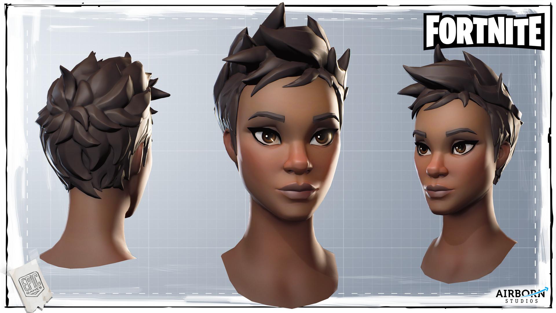 Airborn Studios - Fortnite Character Head Batch 04-4690