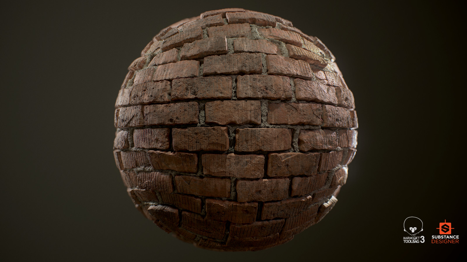 Sloppy Brick Wall Substance Designer