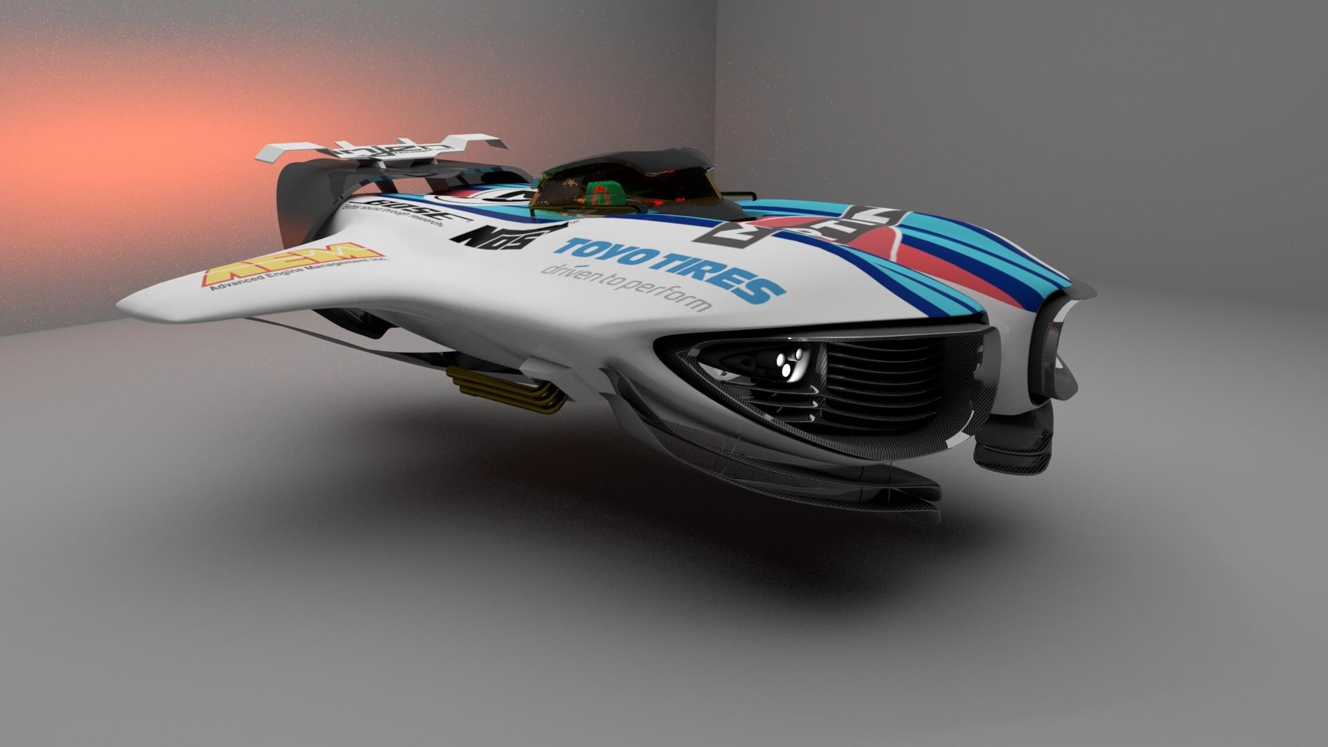 Concept Hover Car