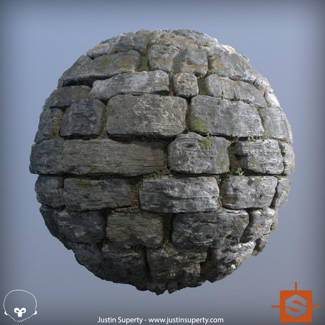 Procedural Stone Wall