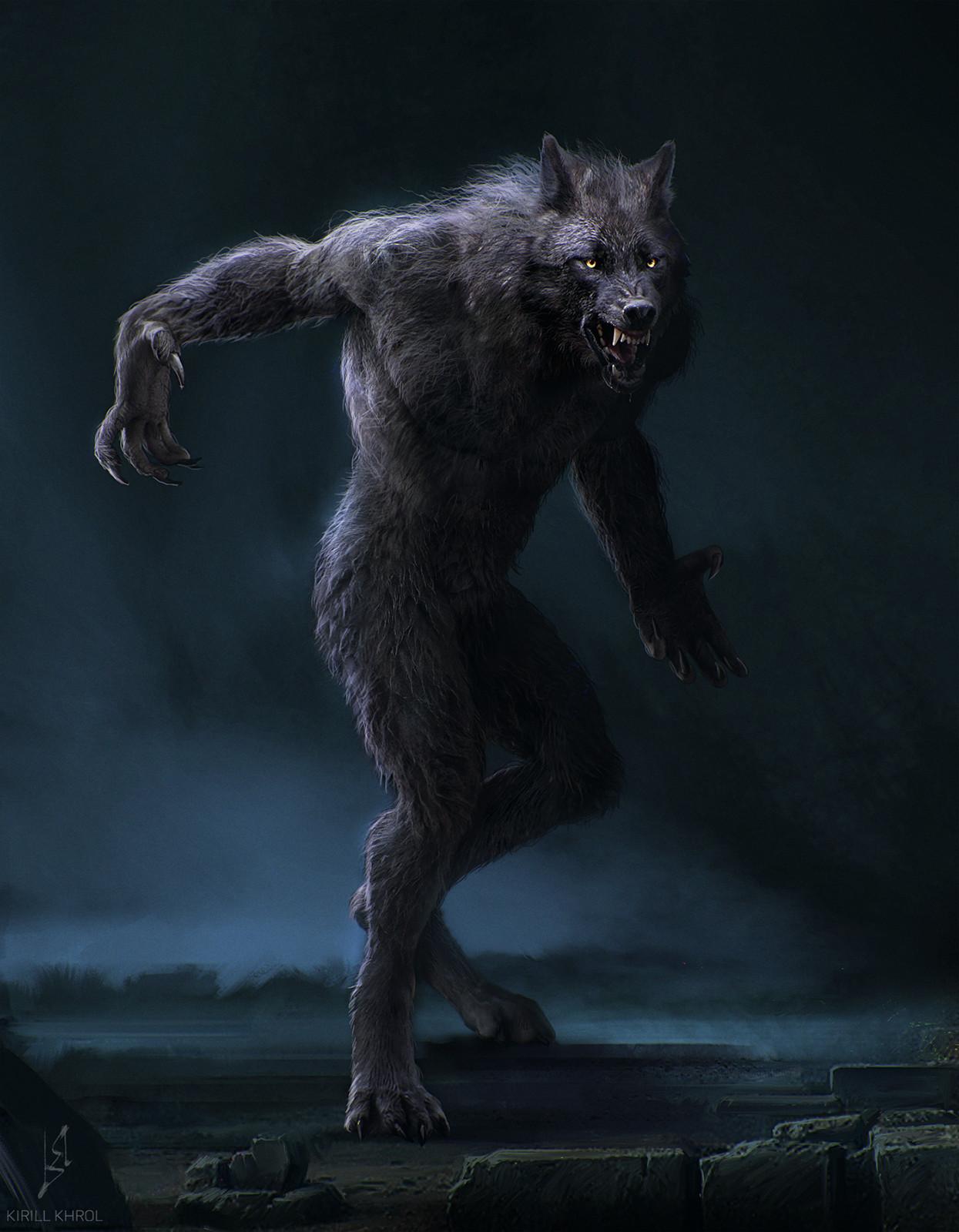 Nice werewolf - photo#55
