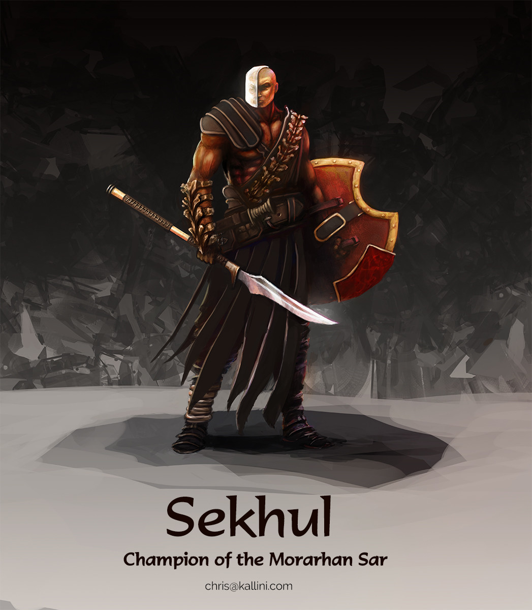 Sekhul, Character Design