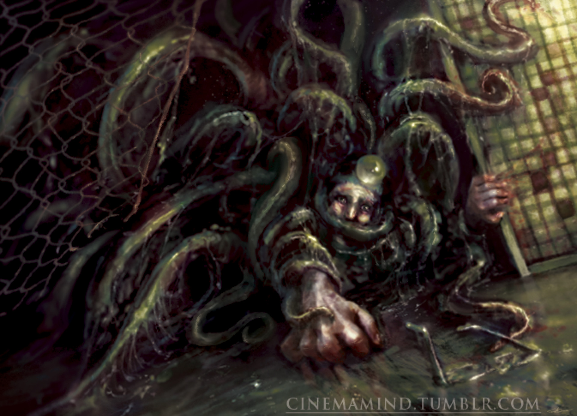 Grasping Tentacles