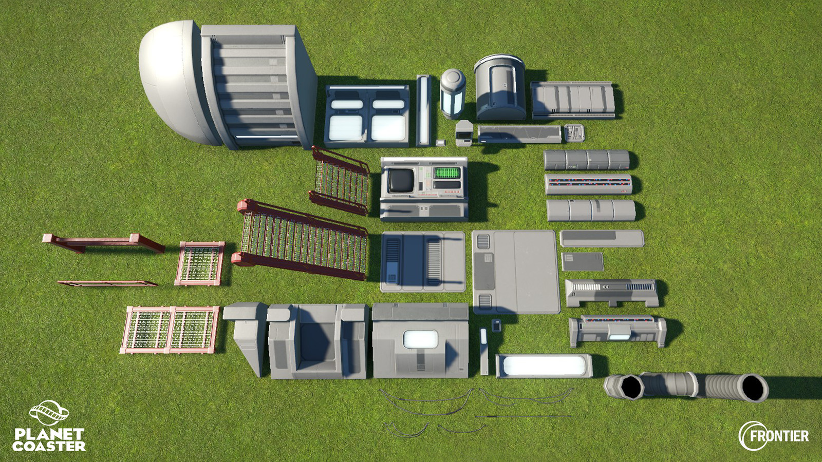 Assets done for the Scifi Theme