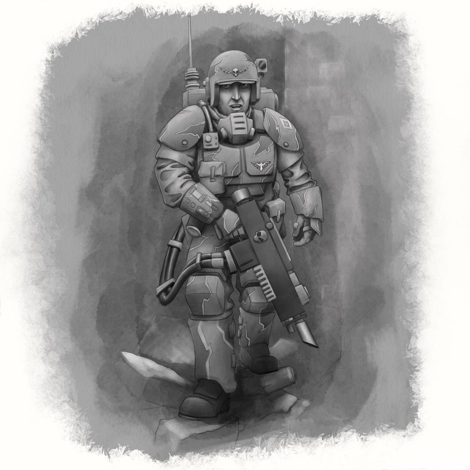 Kasrkin Trooper