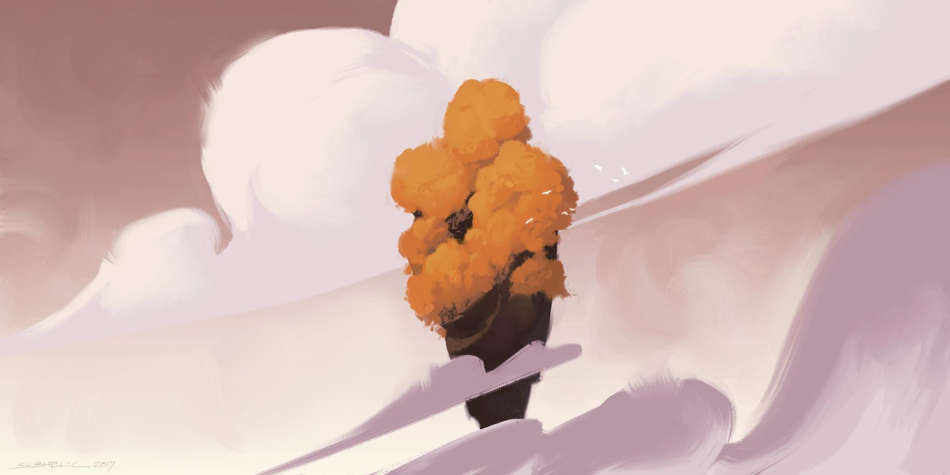 Subhelic gelato float