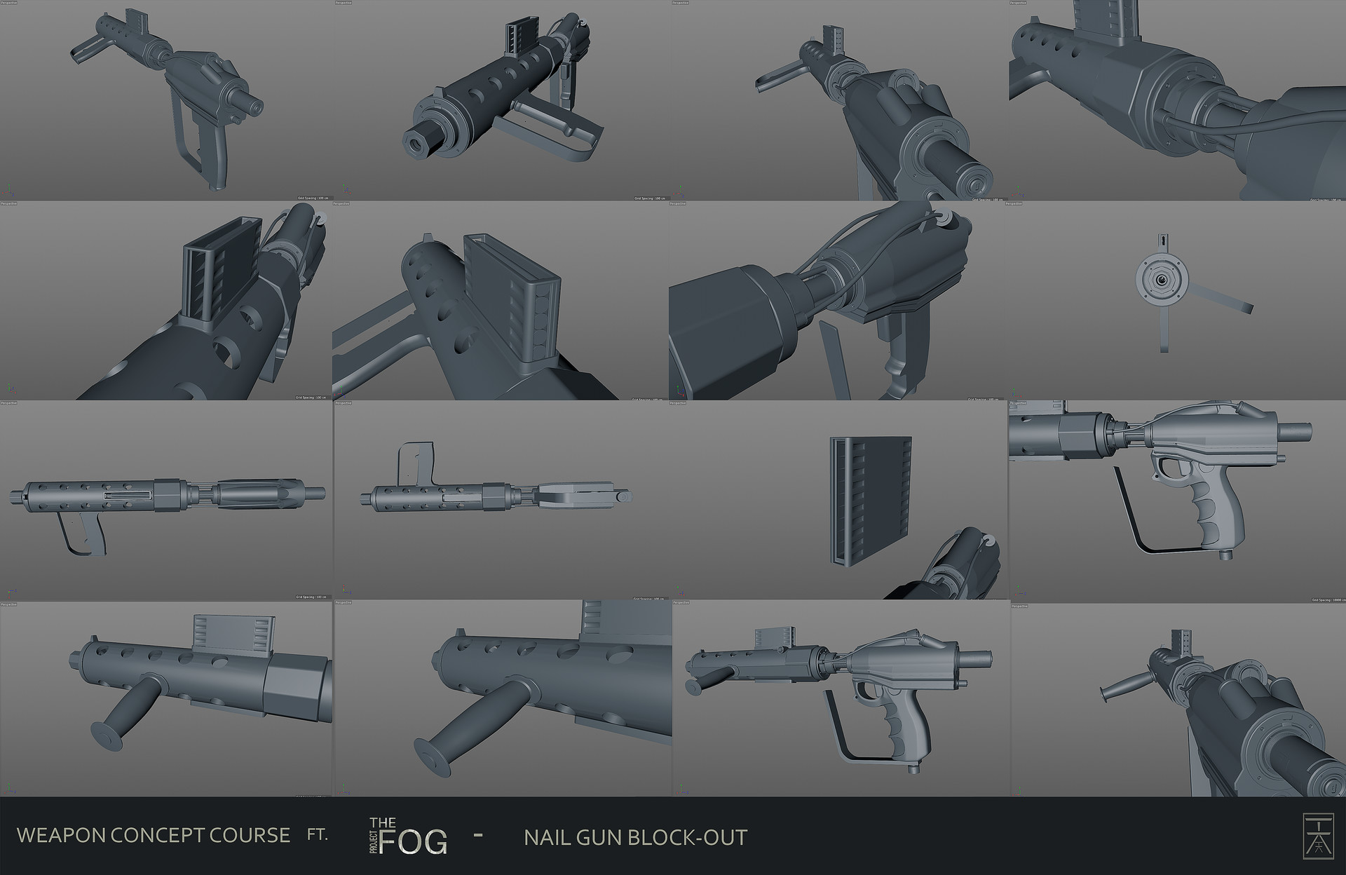 Hermann kromer project fog nailgun concept art hermann kromer hk wca02 hw wk1 nail gun 3dblockout 01 prinsesfo Images