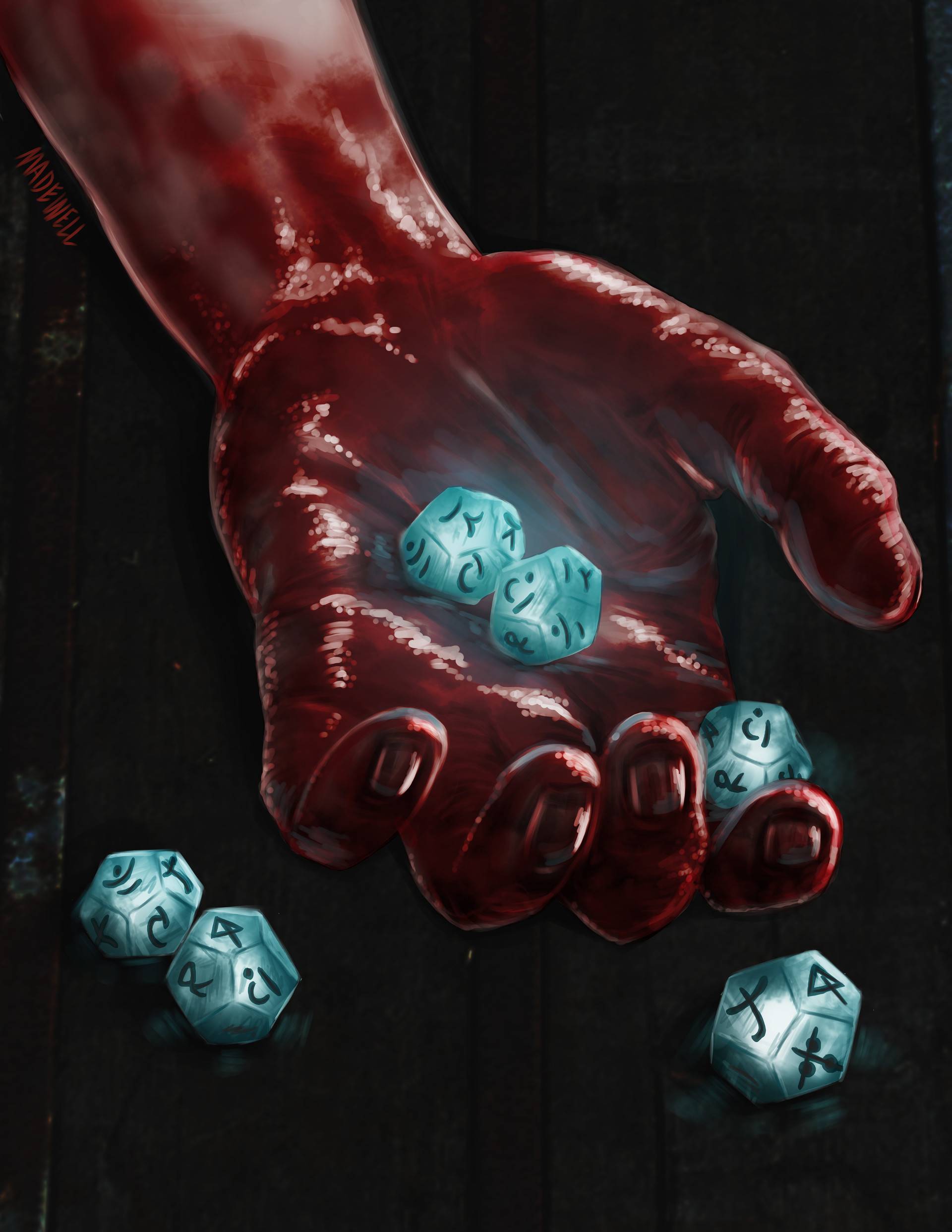 Dead Hand Dice Roll