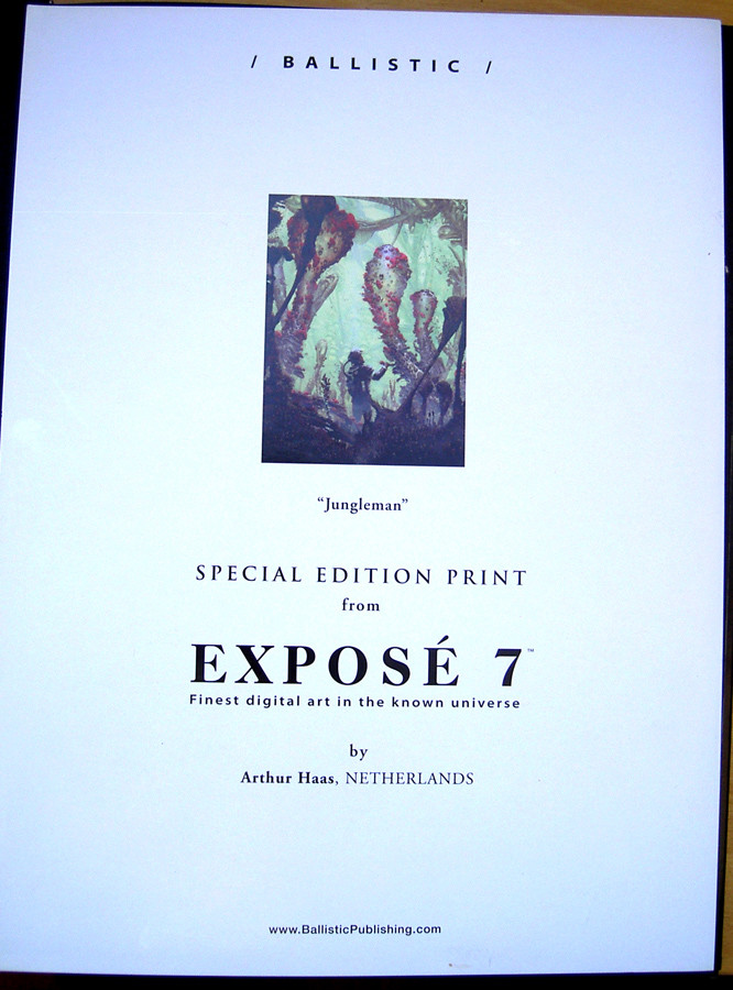 Arthur haas expose 7 special edition print