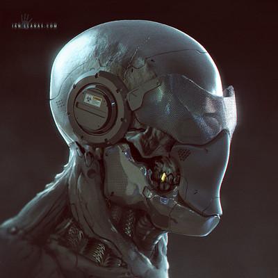 Ian llanas skullpaintover1