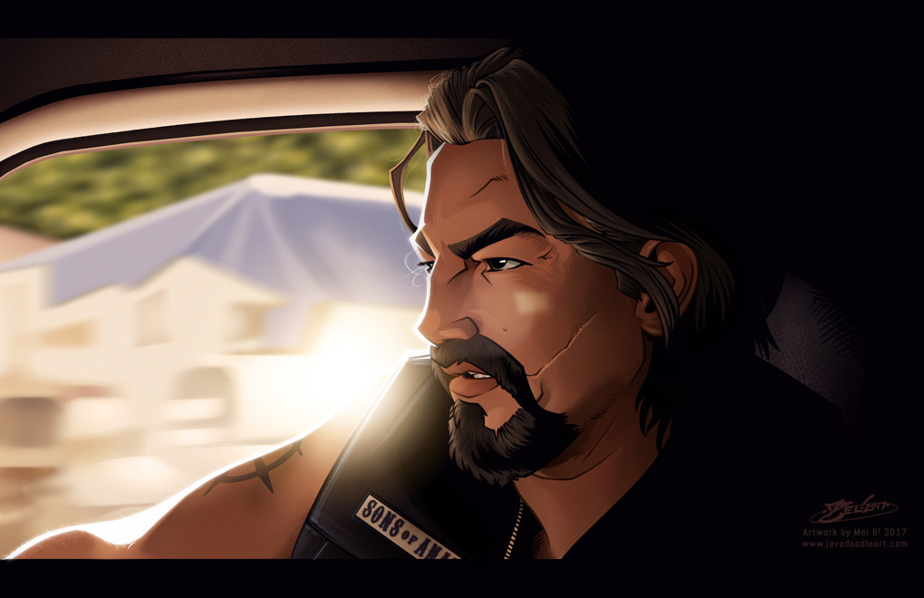 The intention is to do more of these studies for fun. First up: Season 2(ish) Chibs, as played by Tommy Fanagan