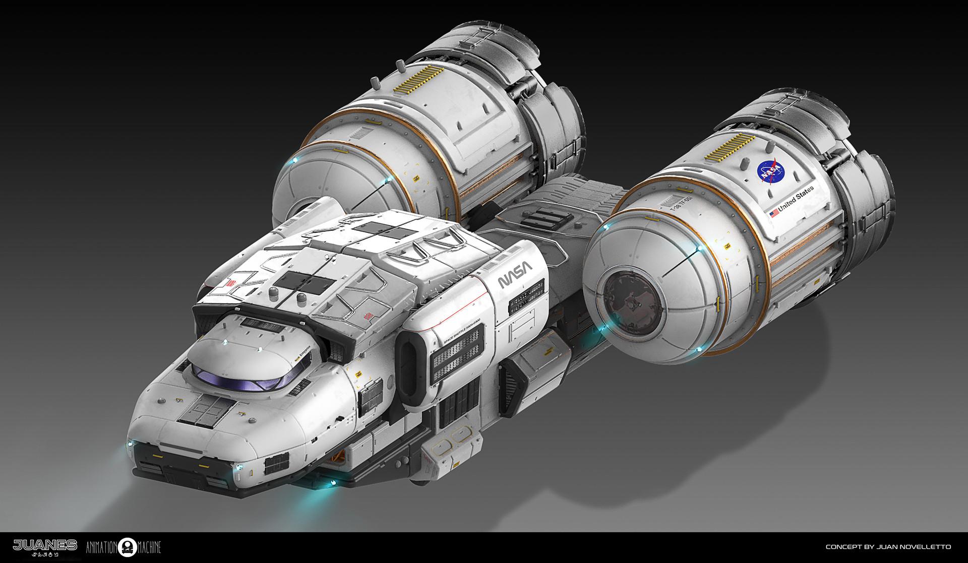First layout version with NASA scheme
