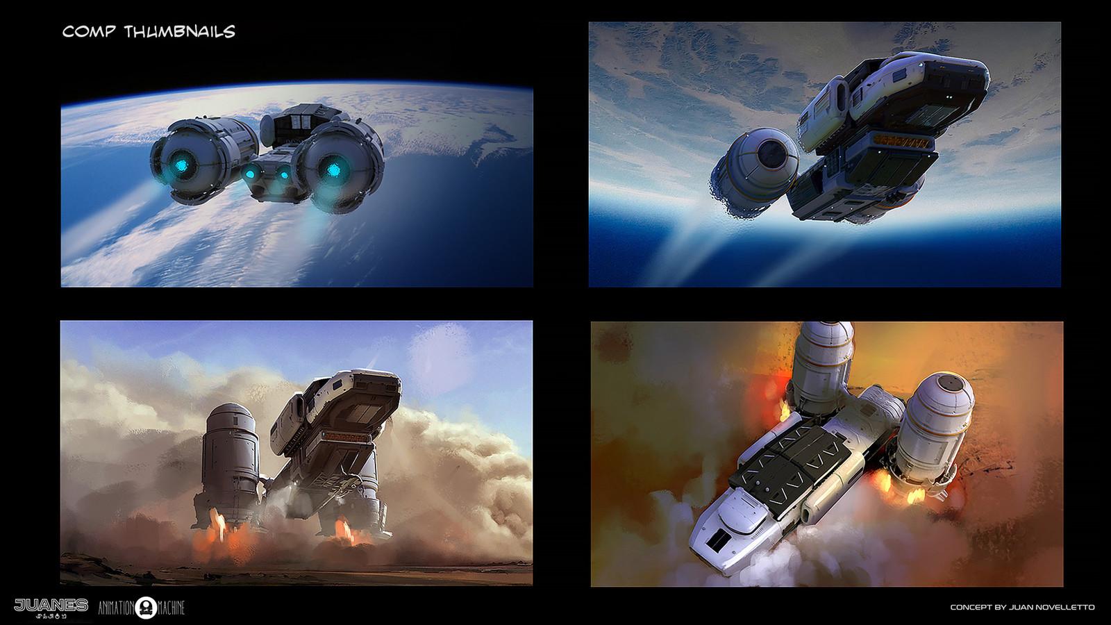 Some composition thumbnails