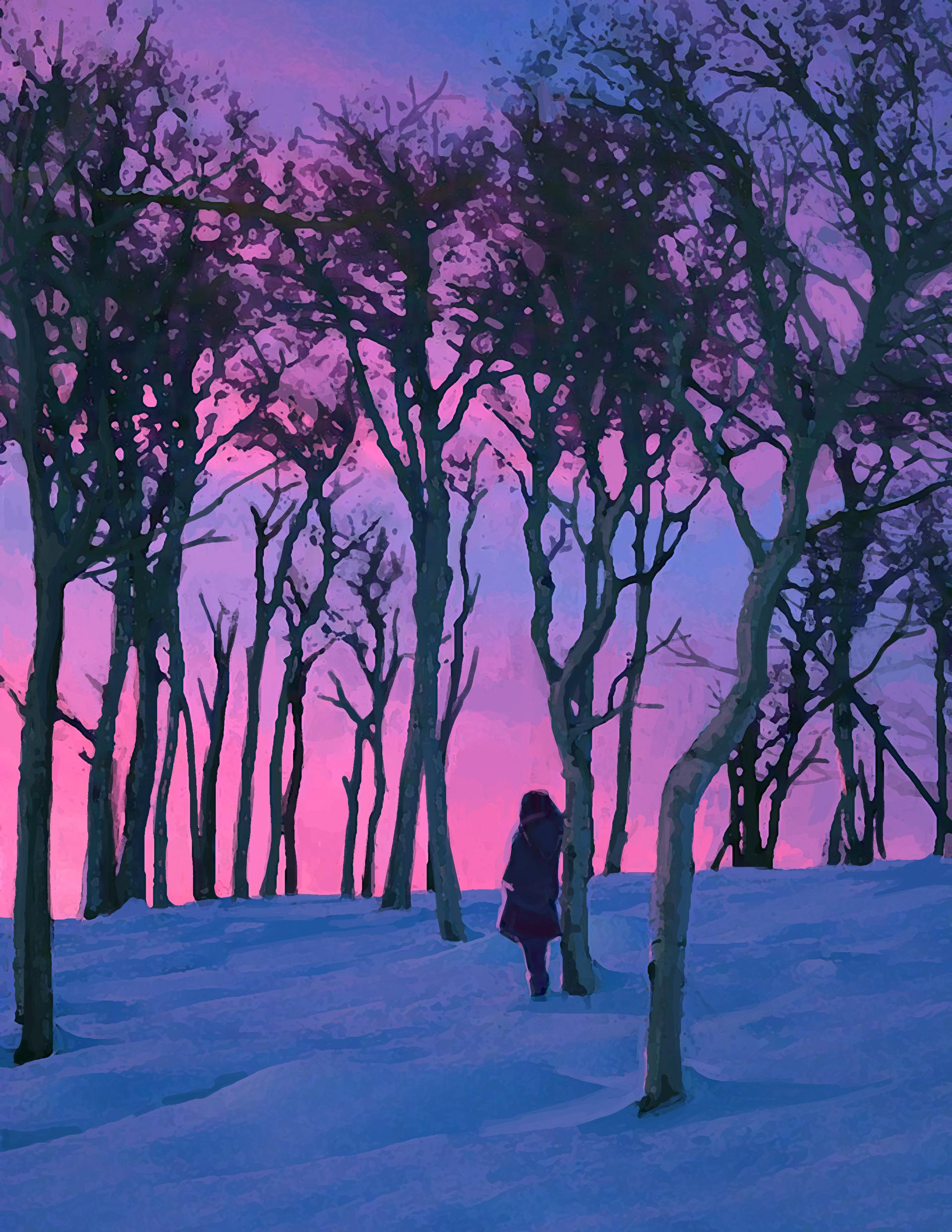 Kayla joncas snowsky pink