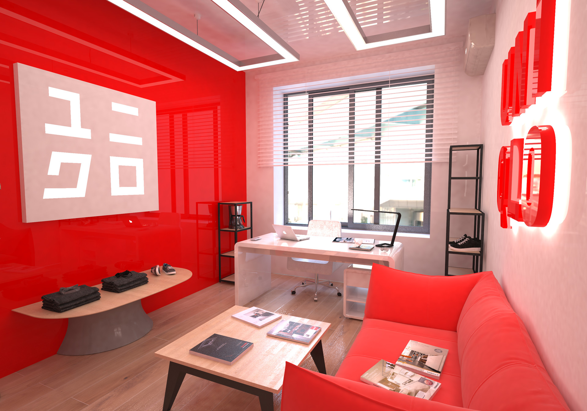 Sora Sugiyama Design Project Of The Office Of Uniqlo