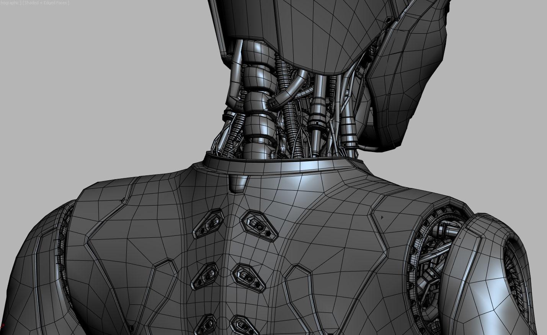 David letondor robotskin davidletondor v14 wireframe